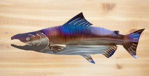 Chinook Salmon - Metal Art