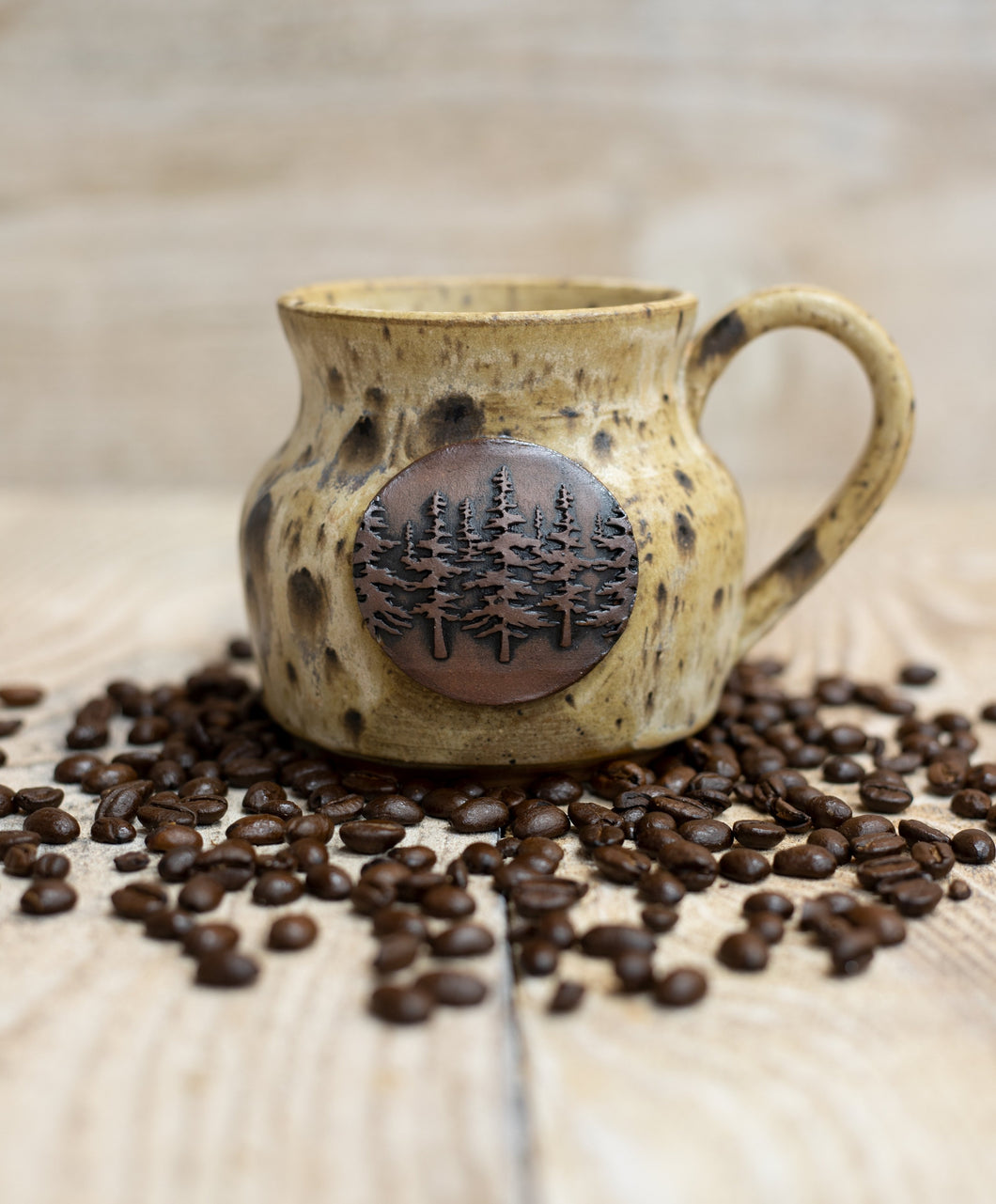 The Woods Mug - Speckled Cream