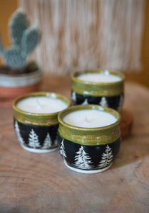 Essential Oil Candles - Reusable Container