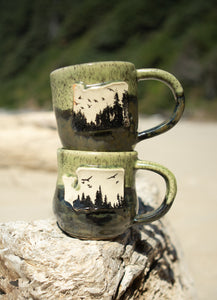 Washington Forest Ceramic Mug