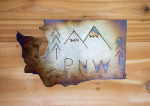 Washington PNW - Metal Art