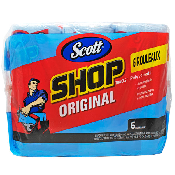 Scottshop Towel Azul 55 H/ Paquete con 6 rollo