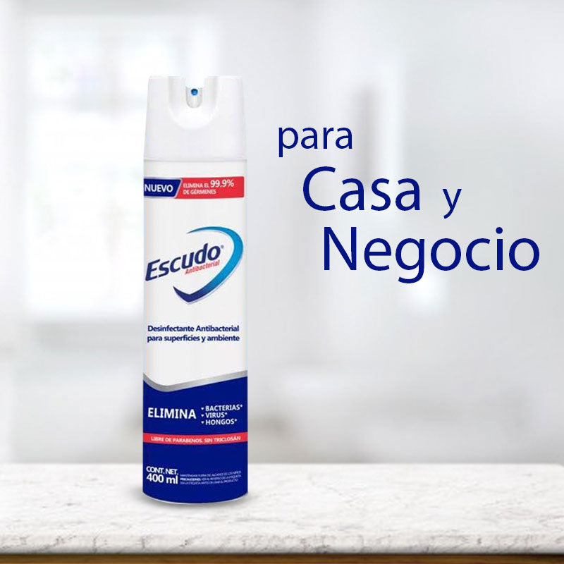 Escudo Natural Fresh Aerosol Antiseptico 400 ml / 1 pieza