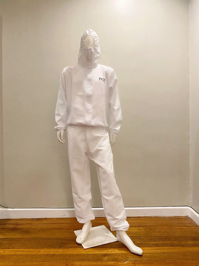 Two-Piece PQ PPE with Hood