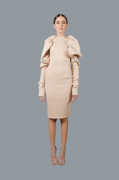 Gigot Body Con Dress