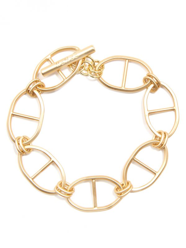 Matte Mariner Links Bracelet Jewelry | Armreif - misses-b