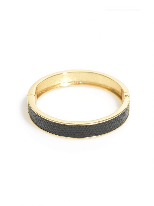 Leather Textures Bangle - misses-b