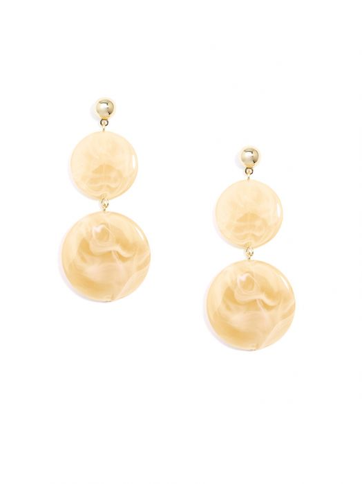 Swirled Circles Double Drop Earring | Ohrringe - misses-b
