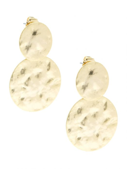 Hammered Medallions Drop Earring | Ohrringe - misses-b