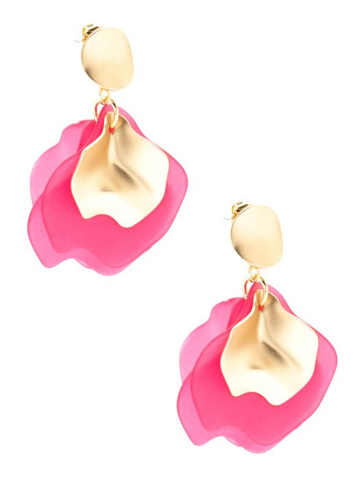 Sheer Petals Drop Earring Jewelry | Ohrringe - misses-b