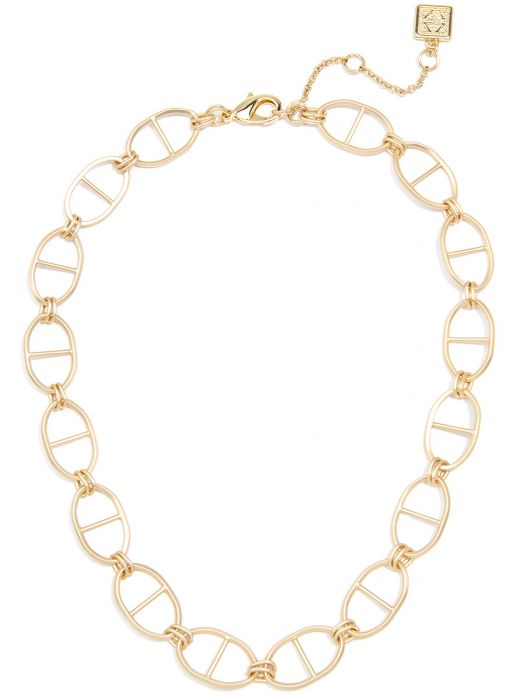 Matte Mariner Links Collar Necklace Jewelry | Halskette - misses-b