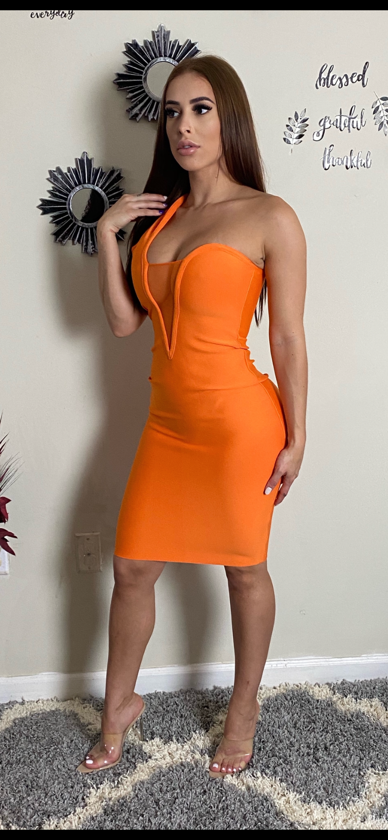 Shannon Lux Bandage Dress