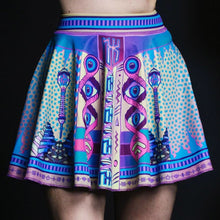 Load image into Gallery viewer, LOGIC LATTICE CHEER SKIRT