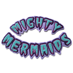 MIGHTY MERMAIDS CHENILLE PATCH SET