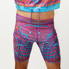 Load image into Gallery viewer, CRYPTIC FREQUENCY BIKE SHORTS