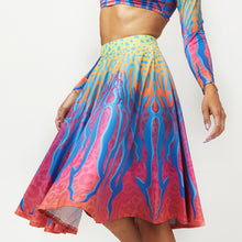Load image into Gallery viewer, CRYPTIC FREQUENCY CIRCLE SKIRT
