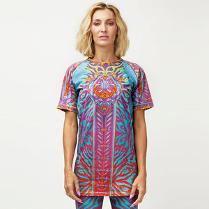 CRYPTIC FREQUENCY 100% COTTON TALL TEE