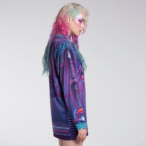DIGITAL DRIFT LONGSLEEVE / DRESS