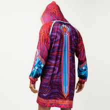 Load image into Gallery viewer, CRYPTIC FREQUENCY HOODED LONGSLEEVE