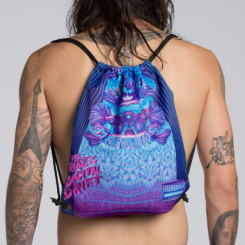 DIGITAL DRIFT DRAWSTRING BACK PACK