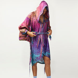 CRYPTIC FREQUENCY RAVE ROBE