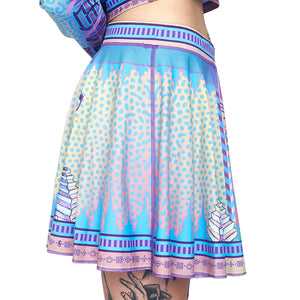LOGIC LATTICE CHEER SKIRT