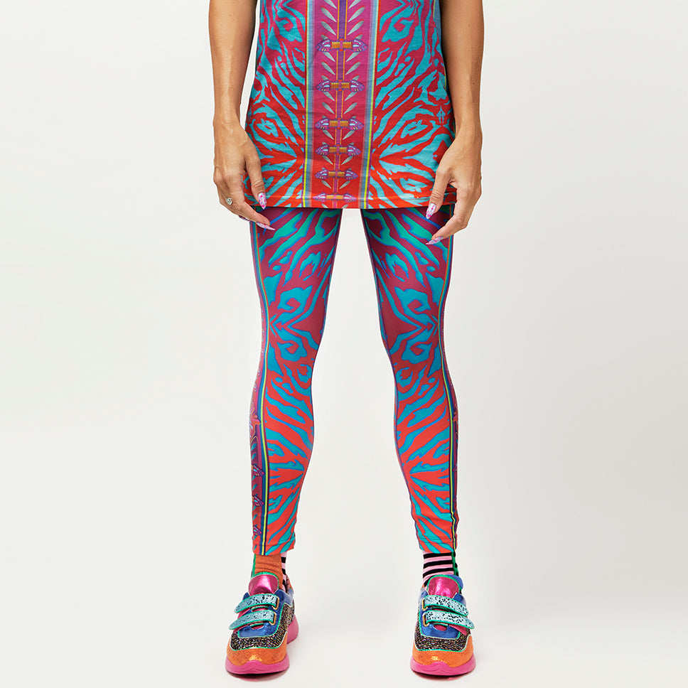 CRYPTIC FREQUENCY UNISEX TIGHTS