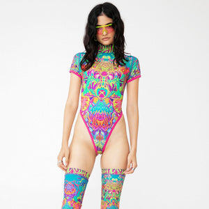 CRYPTIC FREQUENCY LEOTARD