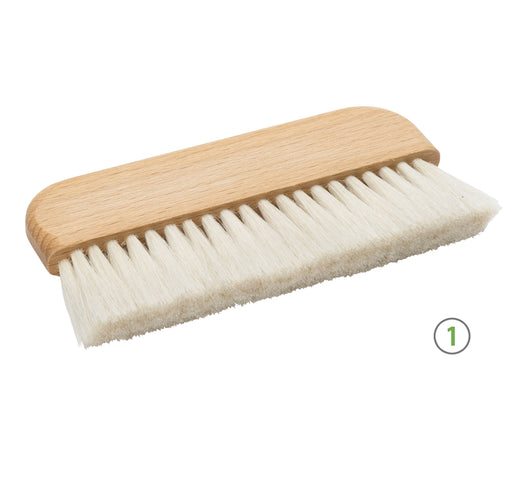 Wide handle conservation brushes - expmshop