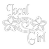 Inbloom Stickers Local Girl Car Sticker