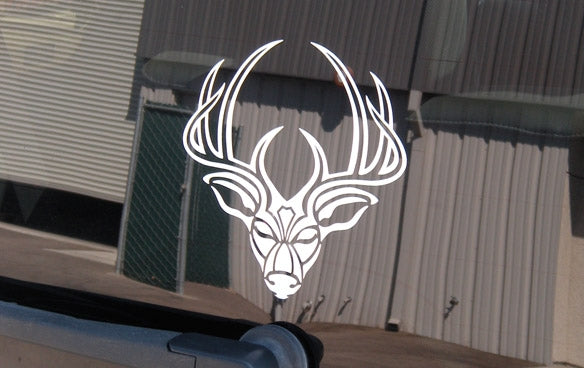 "300 Whitetail Deer Sticker  6"" x  6"""