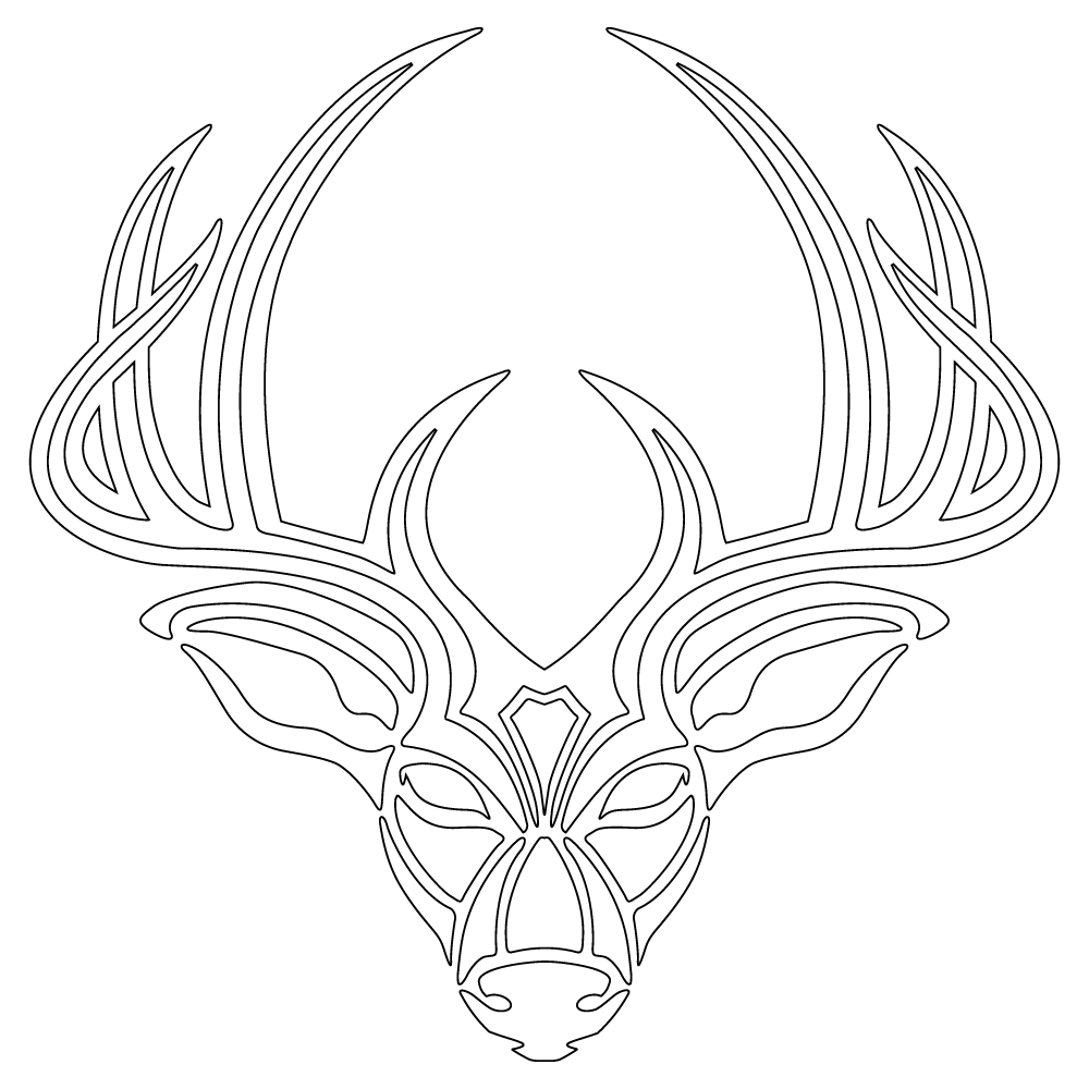Inbloom Stickers Whitetail Deer Sticker Car Sticker