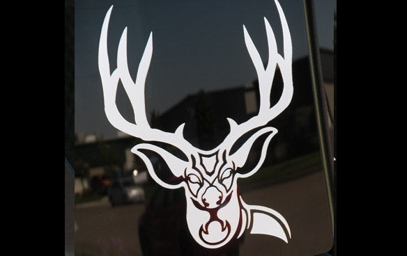 "301 Mule Deer Sticker  6"" x  6"""