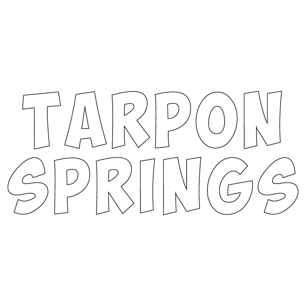 Inbloom Stickers Tarpon Springs Car Sticker