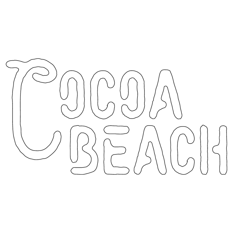 Inbloom Stickers Cocoa Beach 1 Car Sticker