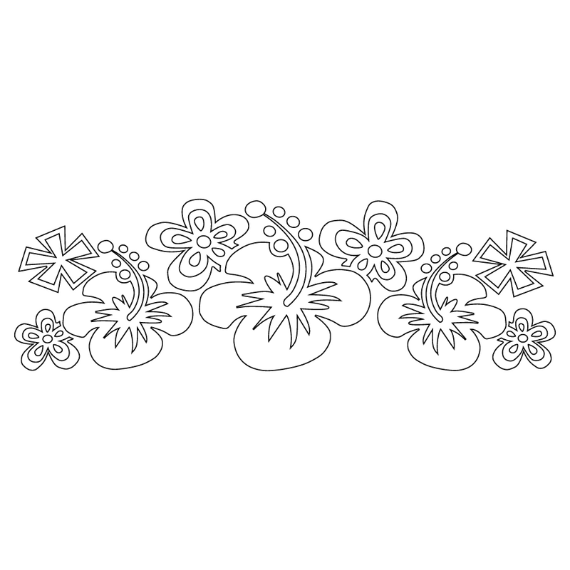 Inbloom Stickers Funky Flower Car Sticker