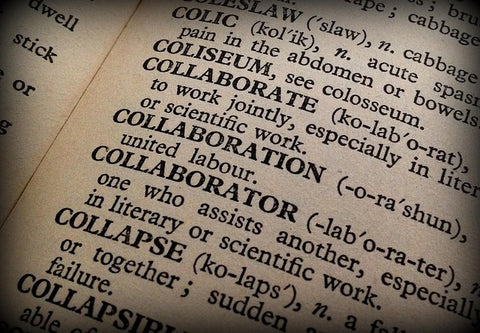 Encyclopedia definition of the word Collaborate