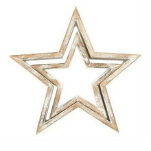 Load image into Gallery viewer, Wooden Star Set