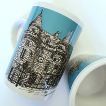 Load image into Gallery viewer, Falkland Sketch Mug Teal