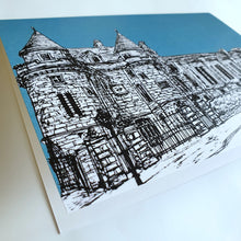 Load image into Gallery viewer, Falkland Sketch Card Teal