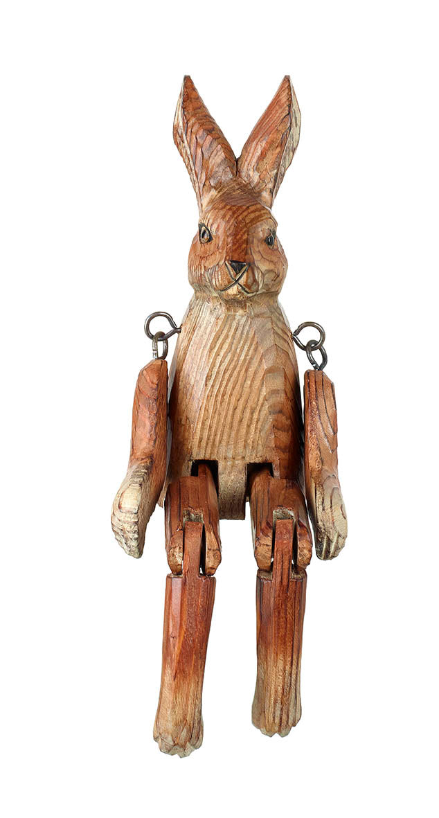Wooden Movable Hare