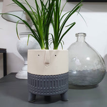 Load image into Gallery viewer, Arnold Grey Planter Large