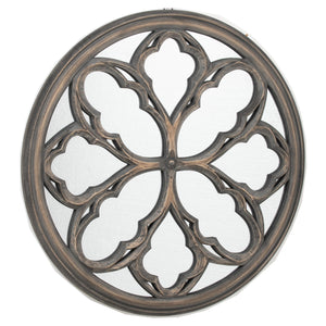 Circular Grey Wash Avery Mirror