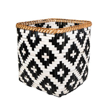 Load image into Gallery viewer, Boho Bamboo Basket