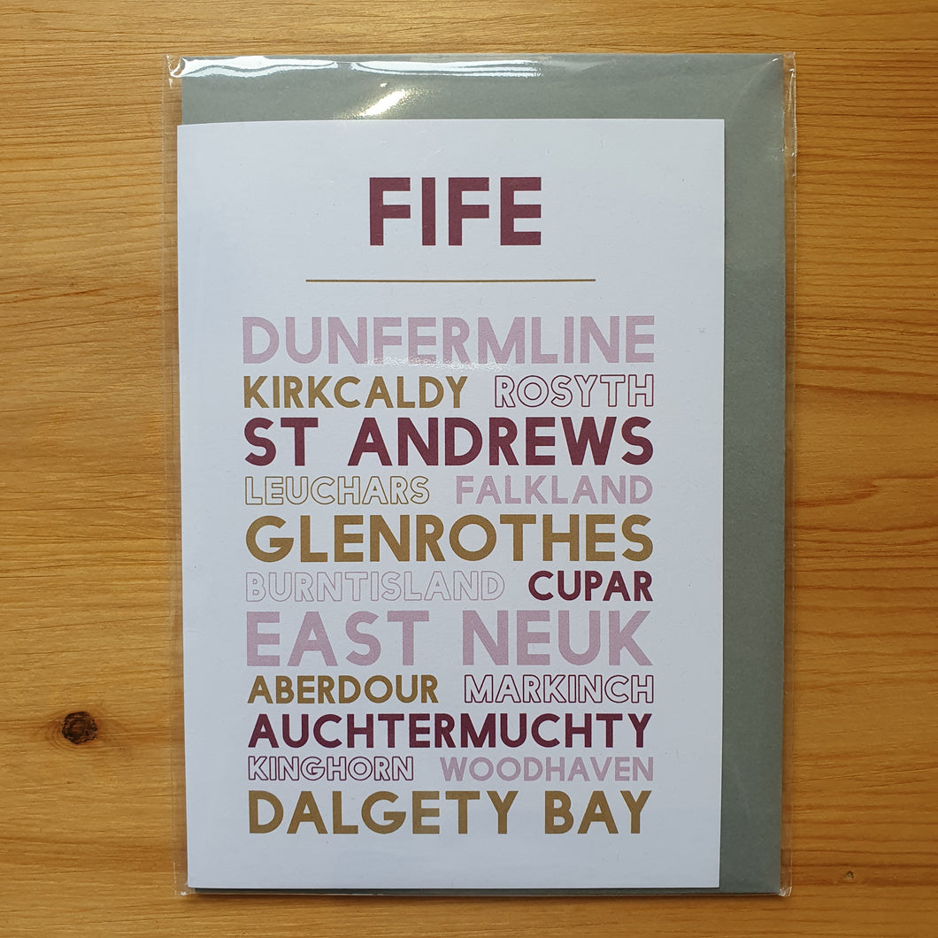 Fife Greeting Card