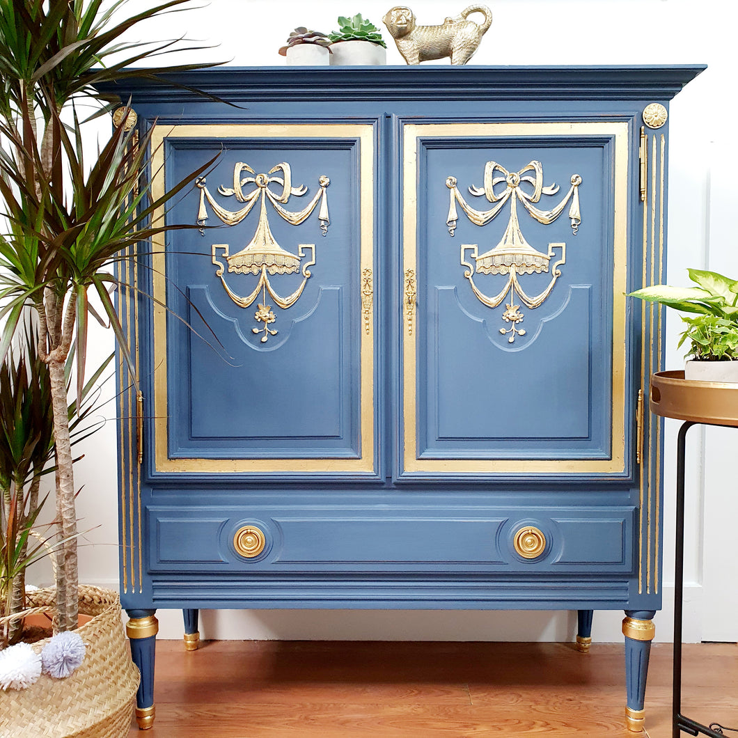 Vintage French Style Cabinet