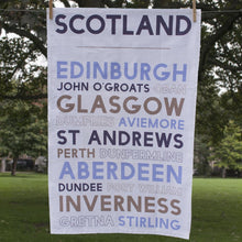 Load image into Gallery viewer, Scotland Tea Towel