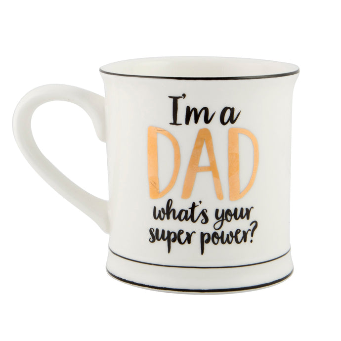 Super Power Dad Mug