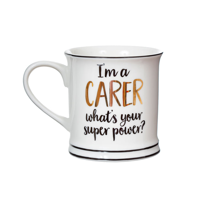 Super Power Carer Mug