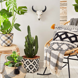 Scandi Boho Geo Throw